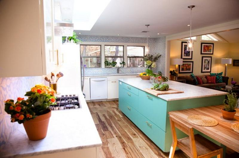 contemporary-eclectic-kitchen