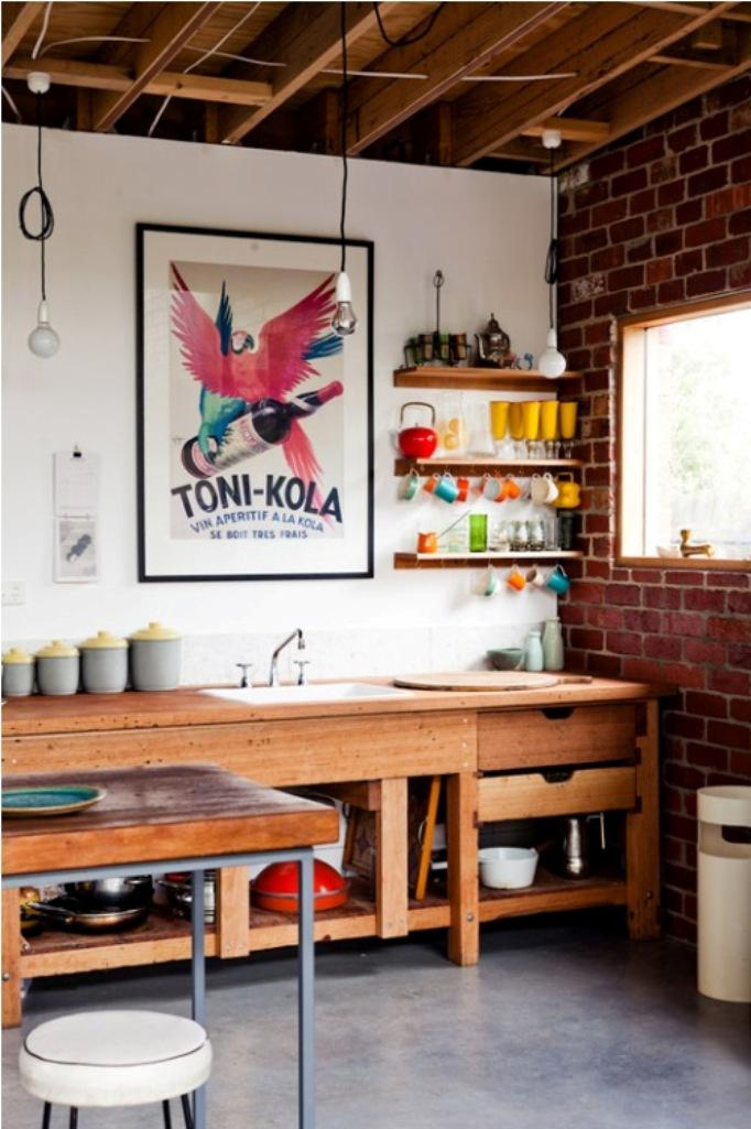 cool-eclectic-kitchen-design