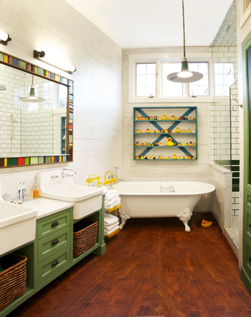 eclectic-bathroom-design