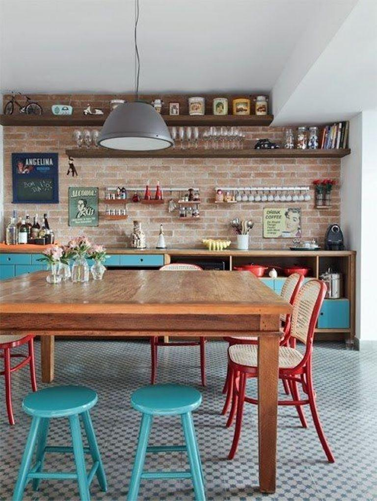 interesting-eclectic-kitchen