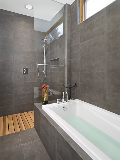 modern-bathroom-with-wooden-shower-top