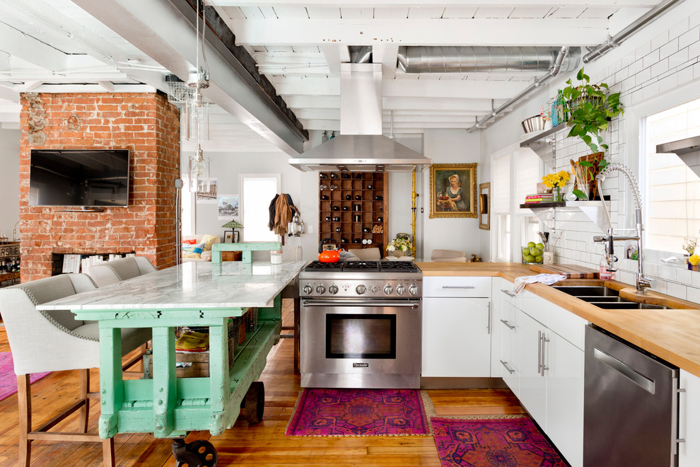 rustic-eclectic-kitchen