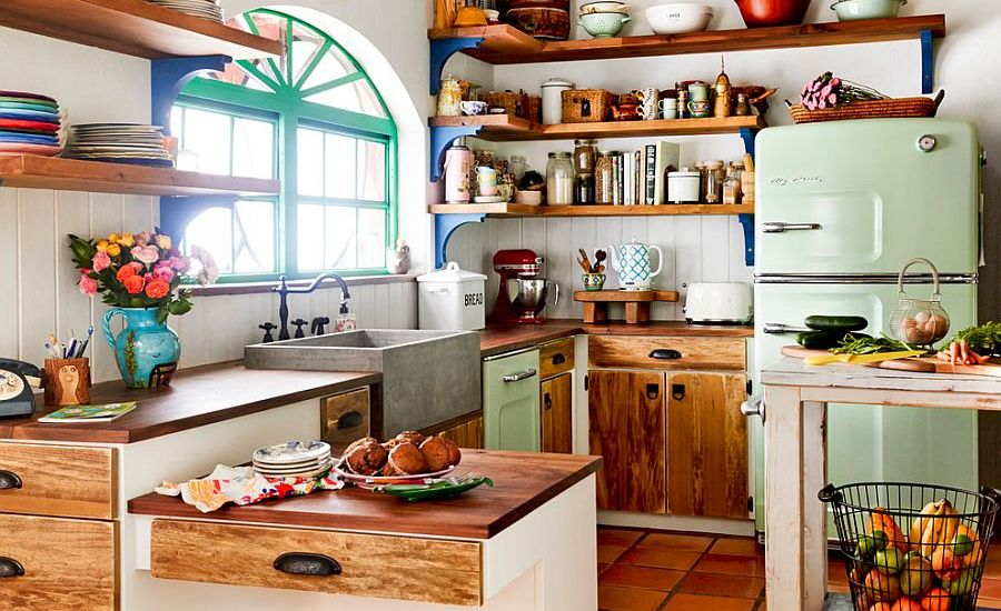 farmhouse-charm-to-the-eclectic-kitchen