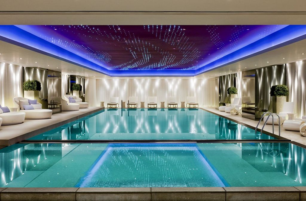 Awesome-indoor-pool-designs-with-cool-blue-ceiling-lighting-and ...