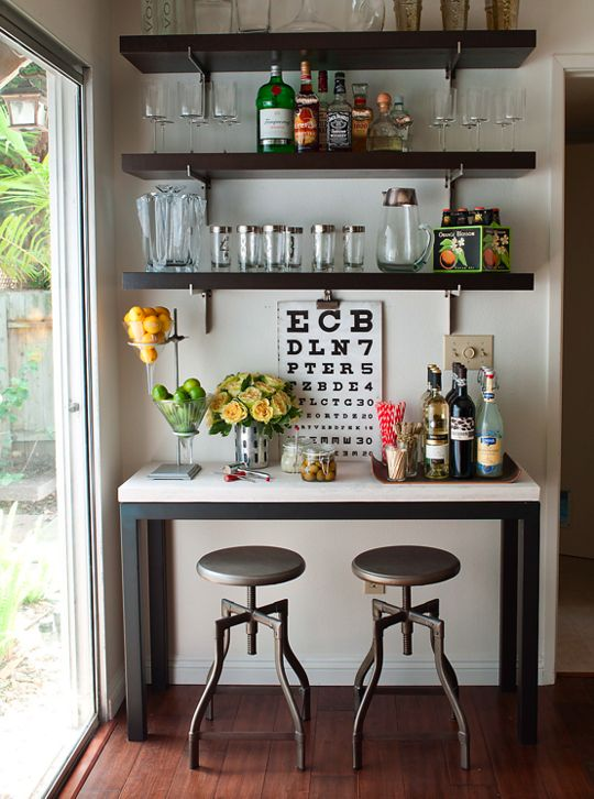 25 Stylish Home Bar Design Ideas