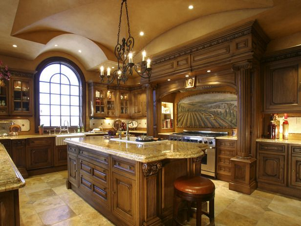 exciting-traditional-kitchen