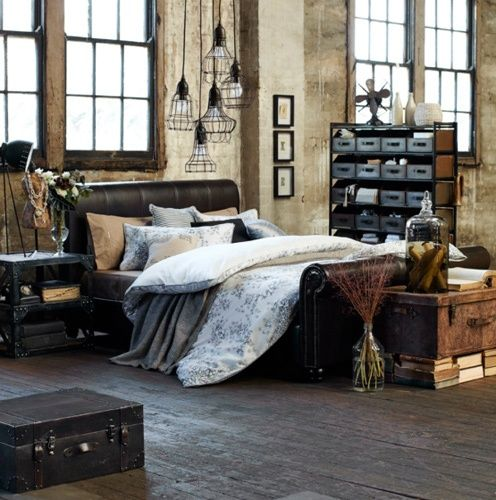 industrial-bedroom-design-ideas