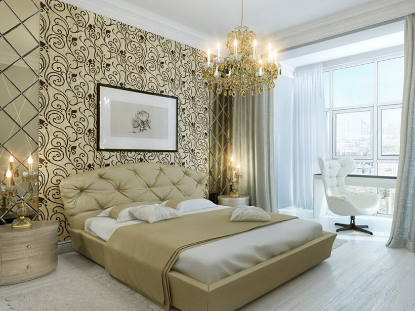 Related Post You May Enjoy & 21 Stunning Master Bedroom Wallpaper Designs