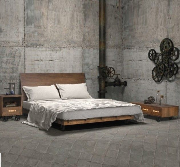polished-industrial-bedroom-design