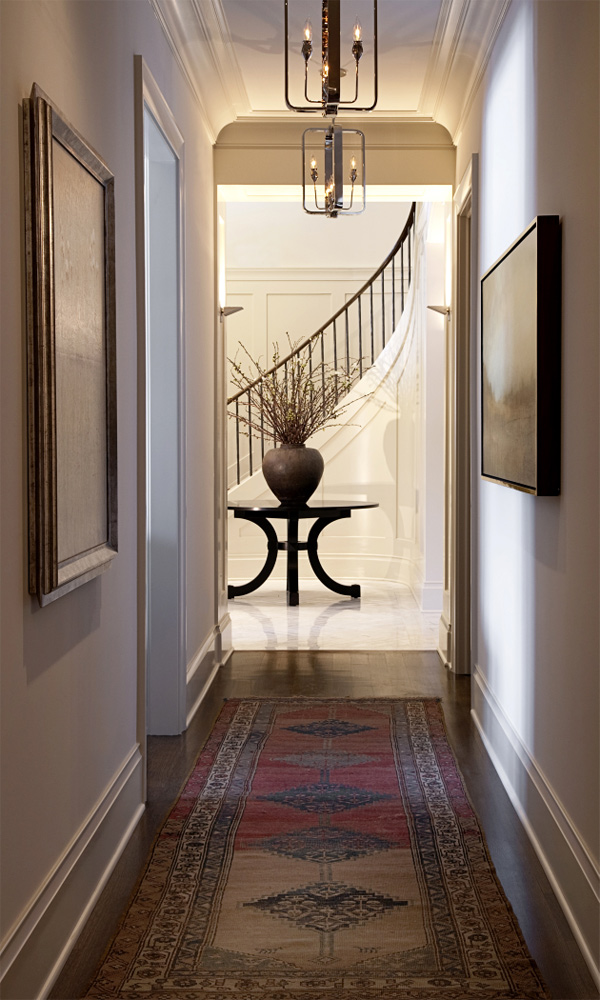 spacious-hallway-design-ideas & 25 Stunning Hallway Design Ideas