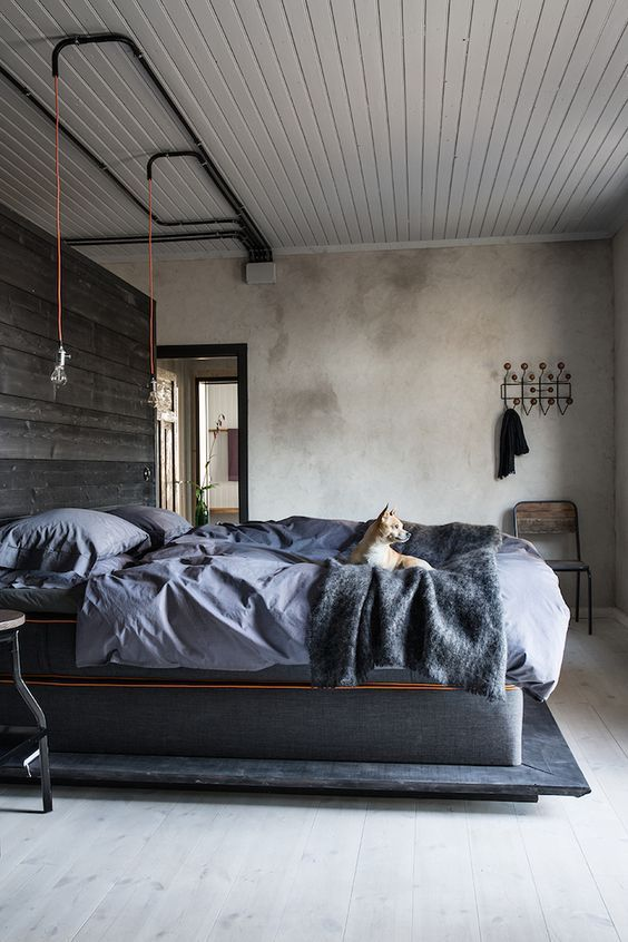 stylish-industrial-bedroom-design-ideas