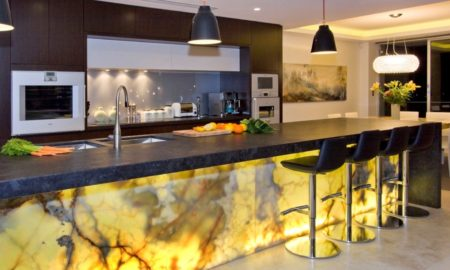 The Glowing Marble Kitchen Design