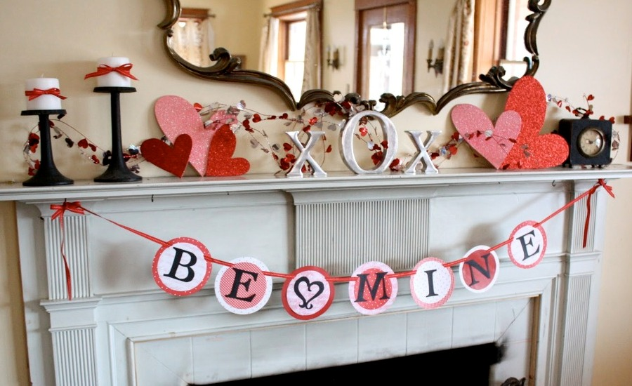 25 best valentines decorations for home for Home decorations for valentine s day