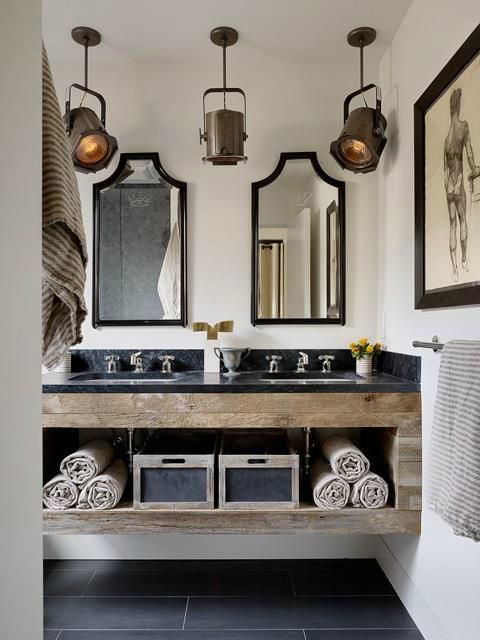 bathroom design vintage industrial 2 - Bathroom Designs Vintage