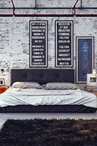 industrial-bedroom-design