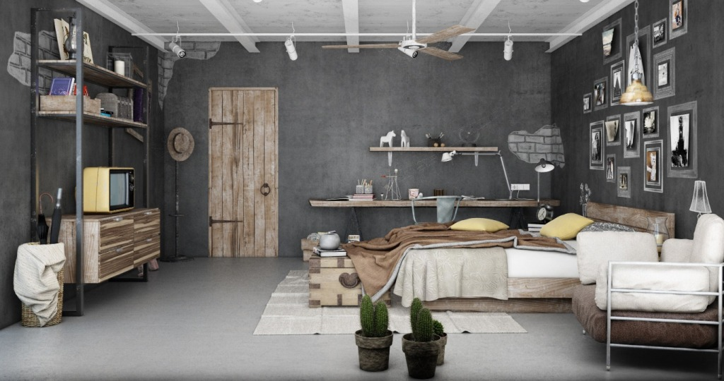 industrial-best-bedroom-design
