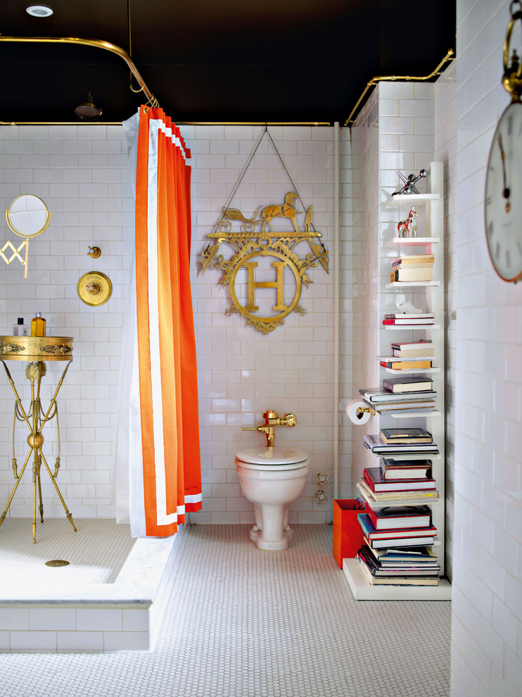 Cool Ruffle Shower Curtain Etsy Decorating Ideas