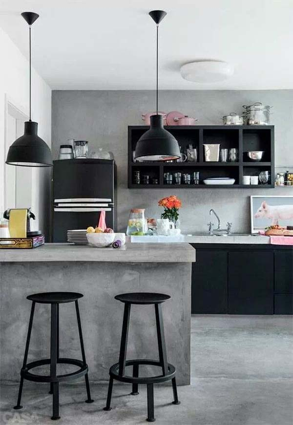 Industrial Kitchen Designs Ideas · Home Decor
