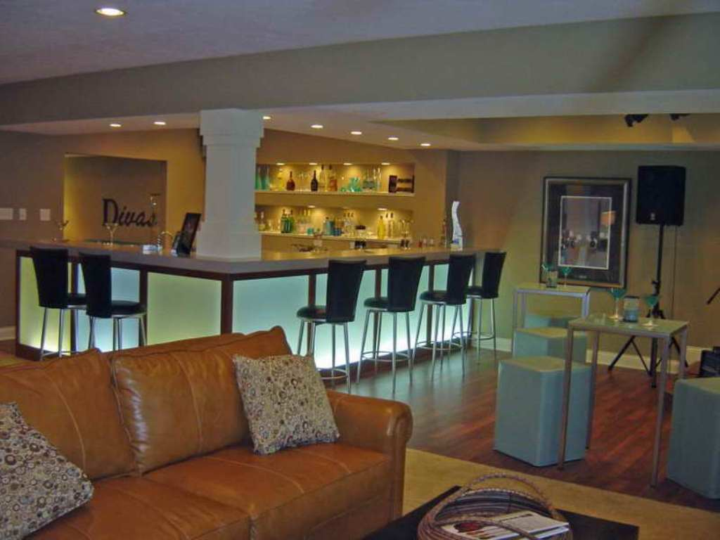 12-Modern Basement Design
