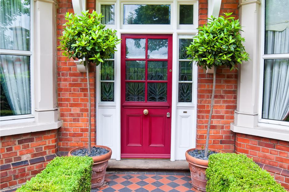 New Front Doors Provide One More Style Element