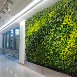 Green Walls – A Cool Style Accent for Offices with a Personality