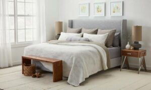 Use pillows for adding a touch of elegance and comfort