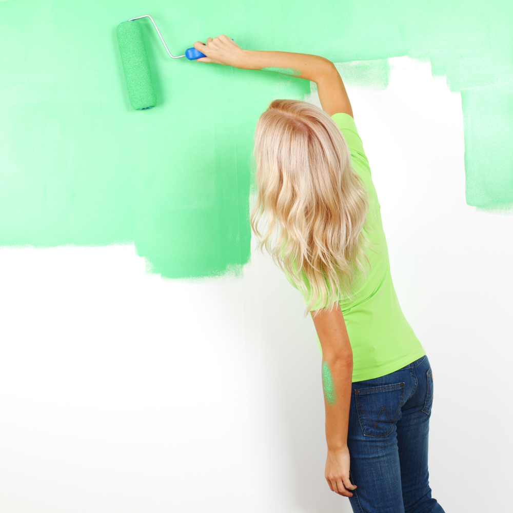 Priming in house painting