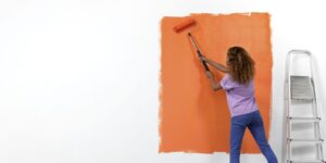 House Painters Prepare The Surface Right