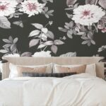 See How Botanical Stick On Removable Wallpaper Can Turn Your Room Into a Retreat