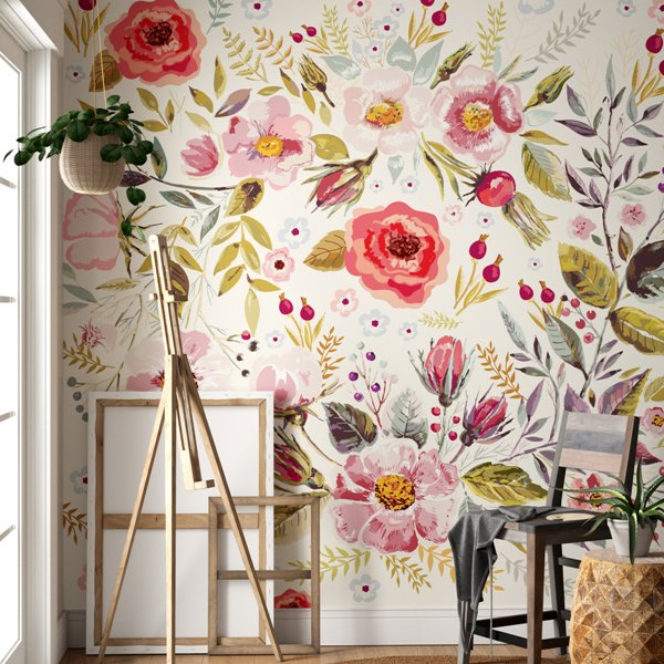Peel and Stick Wallpaper for Your Playroom