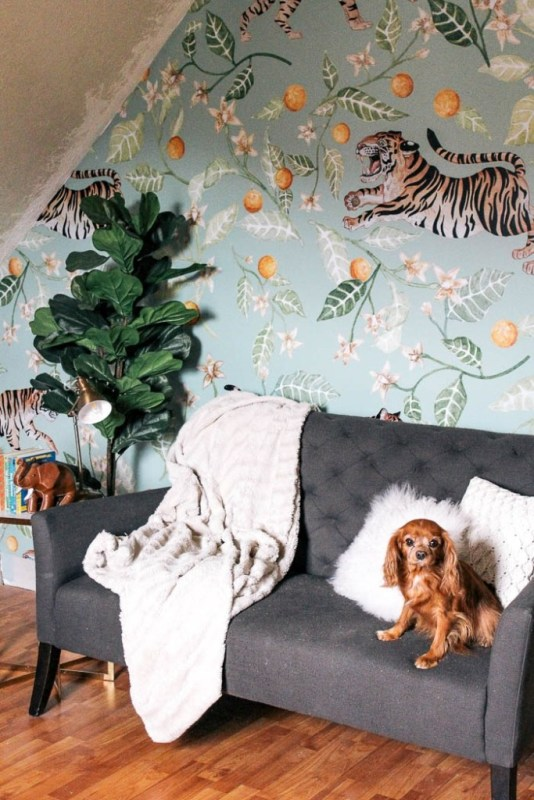 Peel and Stick Wallpaper for Your Playroom1