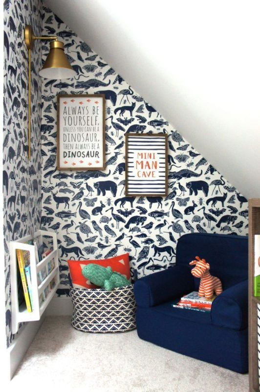 Peel and Stick Wallpaper for Your Playroom2
